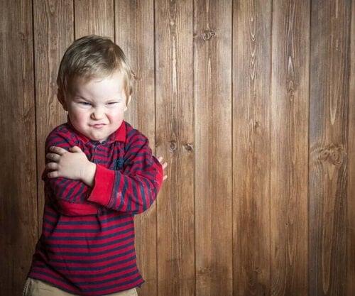 Misfornøyd barn