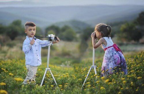 Fordelene med fotografering for barn