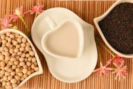 bønner, linser, og soyamelk inneholder kalsium