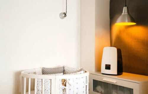 Fordeler med å bruke luftrensere for babyer