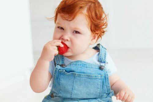 Vanlige matallergier hos babyer