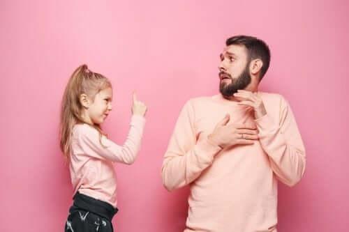 Hvor mye bør foreldre gi etter for barna sine?