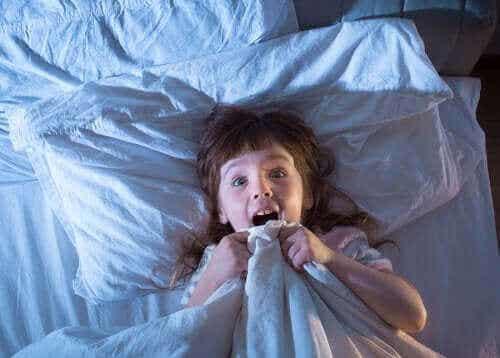 Mareritt hos barn: Hva de er og årsakene til dem