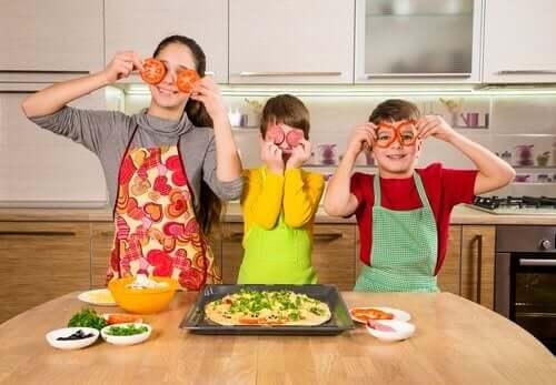 3 oppskrifter familien kan tilberede sammen