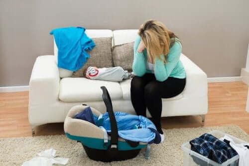 Lær om barseltårer og fødselsdepresjon