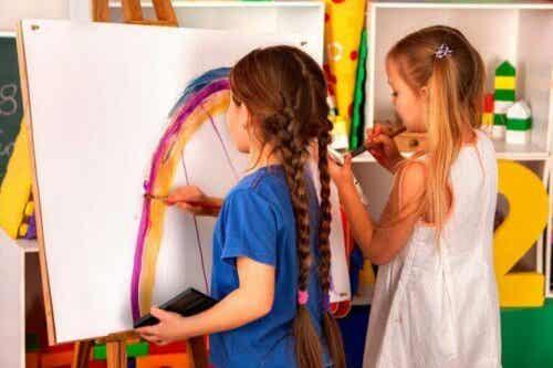 Fordelene med kunstverksteder for barn