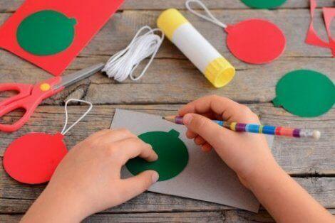 Kunst og håndverkprosjekter for barn