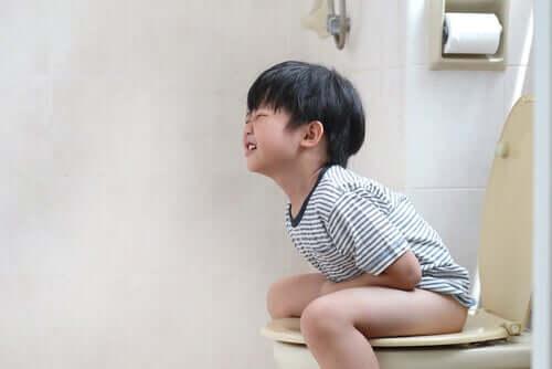 Paradoksal diaré hos barn