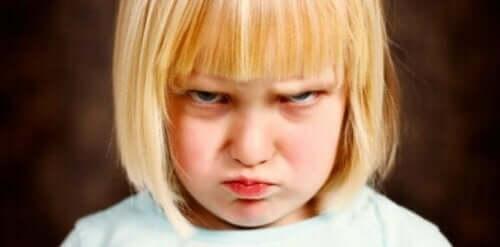Barn som har problemer med selvregulering