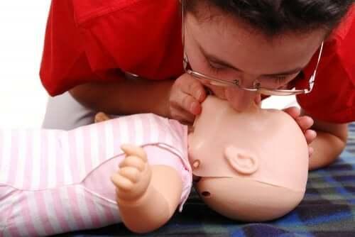 Hjerte-lunge-redning for barn