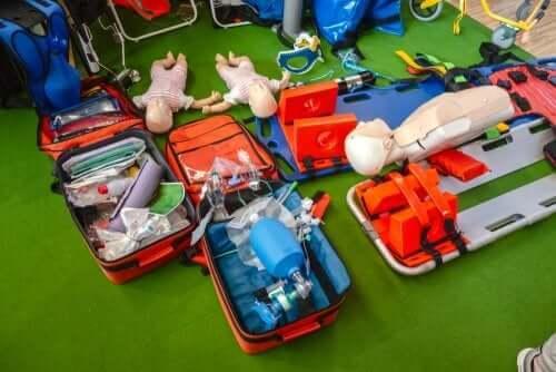 Hjerte-lungeredning til barn