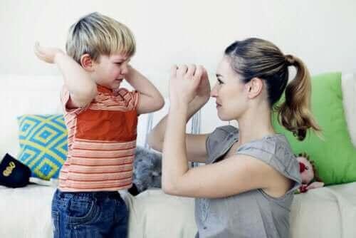5 teknikker for å endre adferden til barn