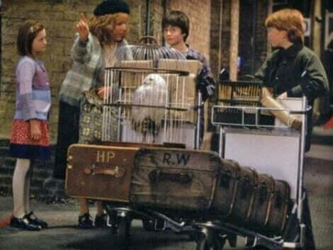 Bilde fra en scene i filmen Harry Potter