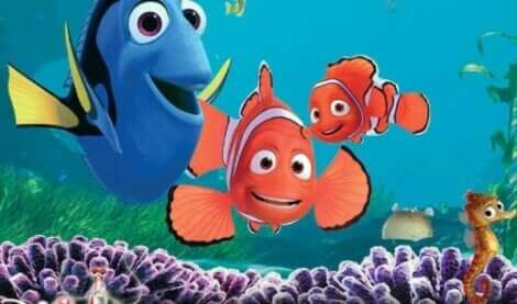 Nemo og Dory fra Oppdrag Dory