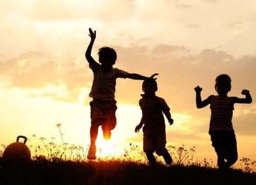 Ditt barns frihet, i henhold til alderen deres