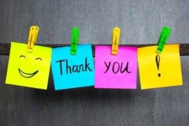 Takkekort lærer barn gode manerer