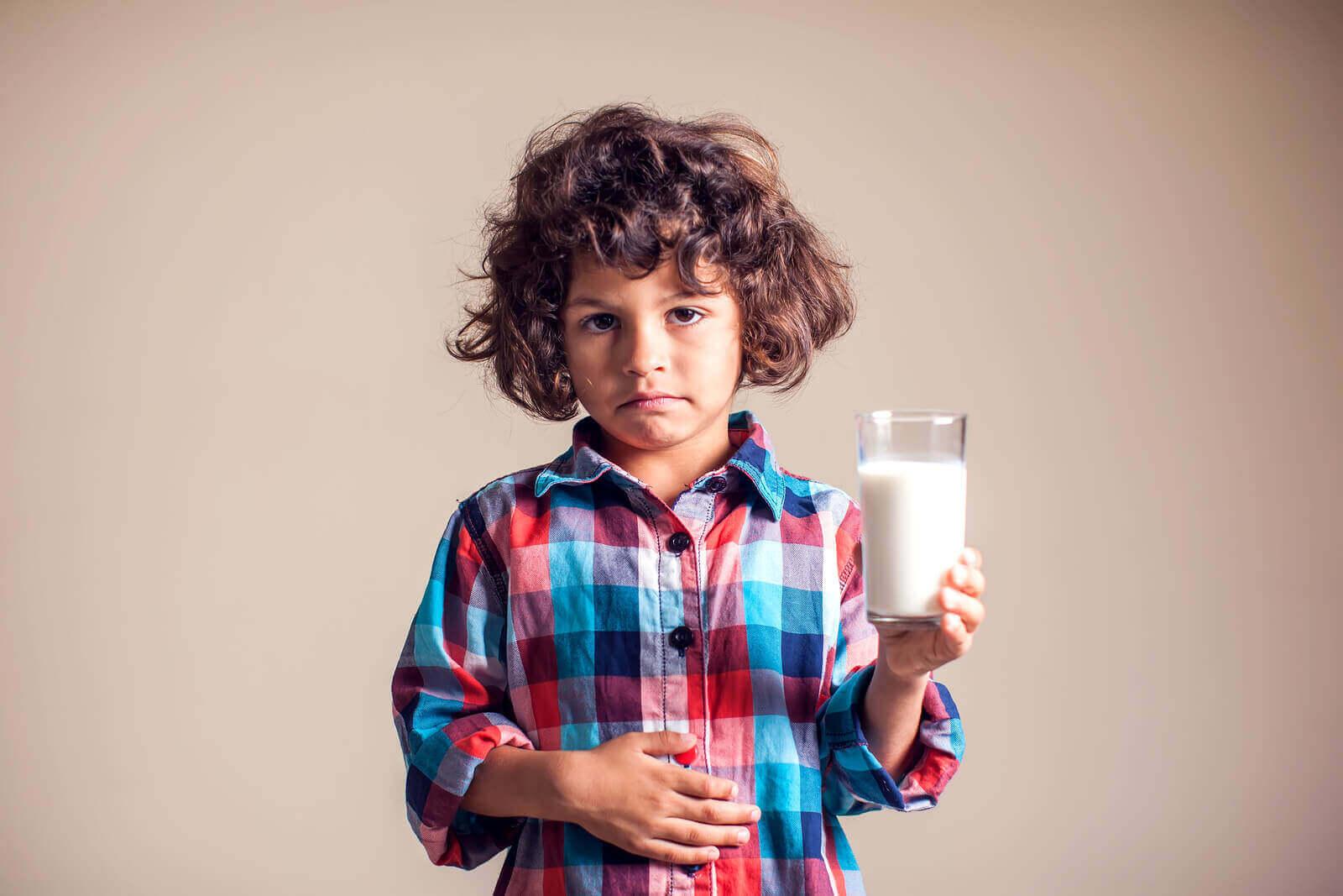 Kumelkeproteinallergi hos barn