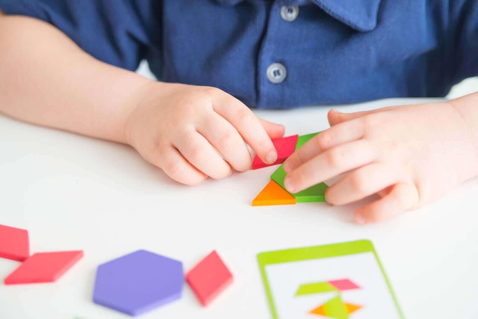 Fordelene med tangrammer for barn