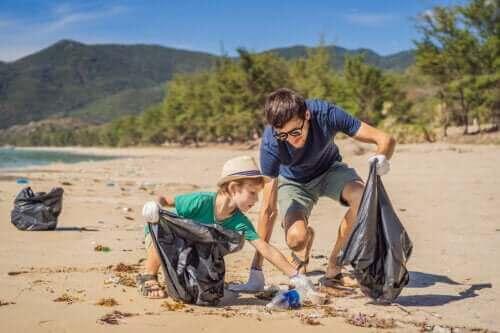 Miljøopplæringsaktiviteter for hele familien