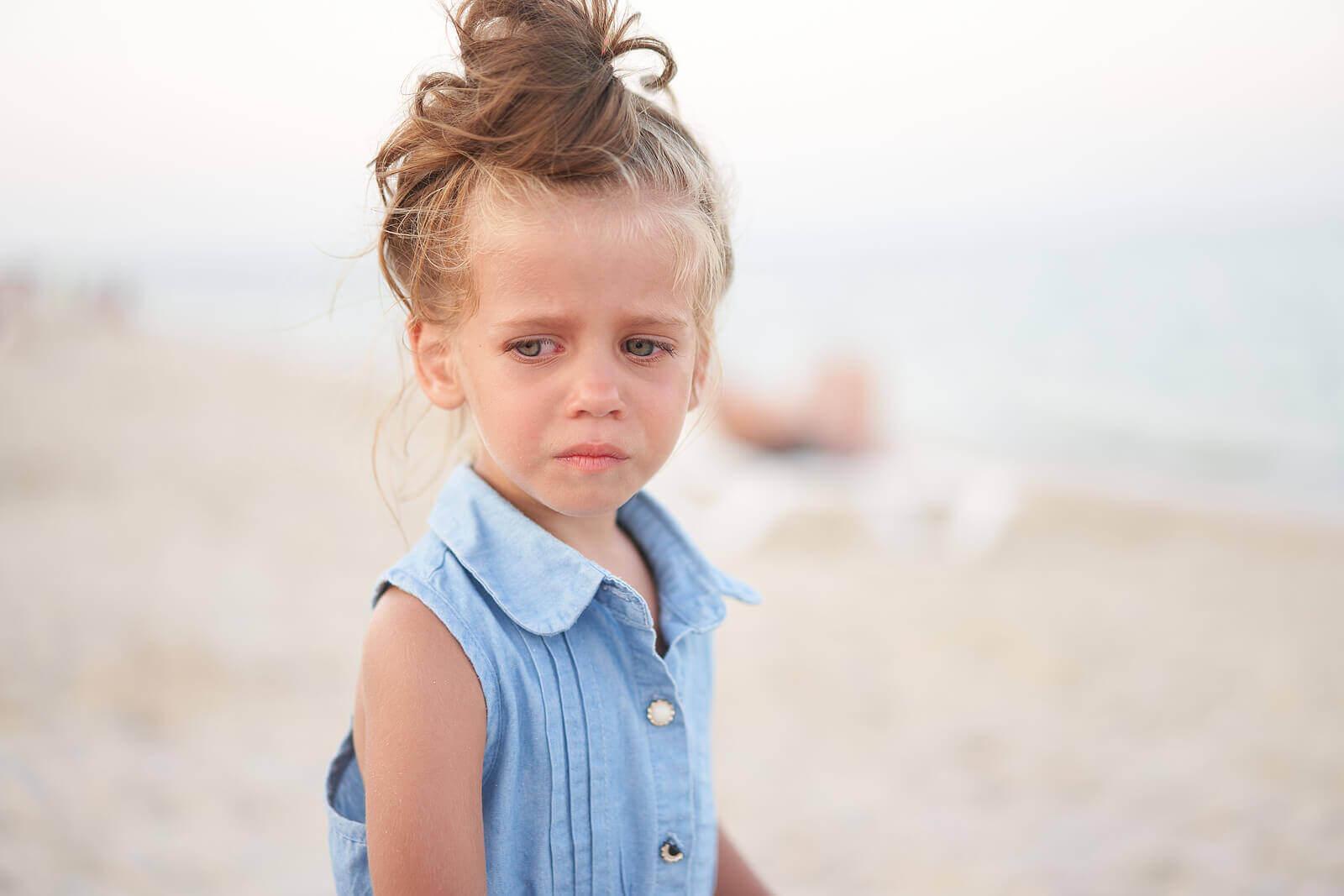 Hvordan kan du vite når et barn er trist?