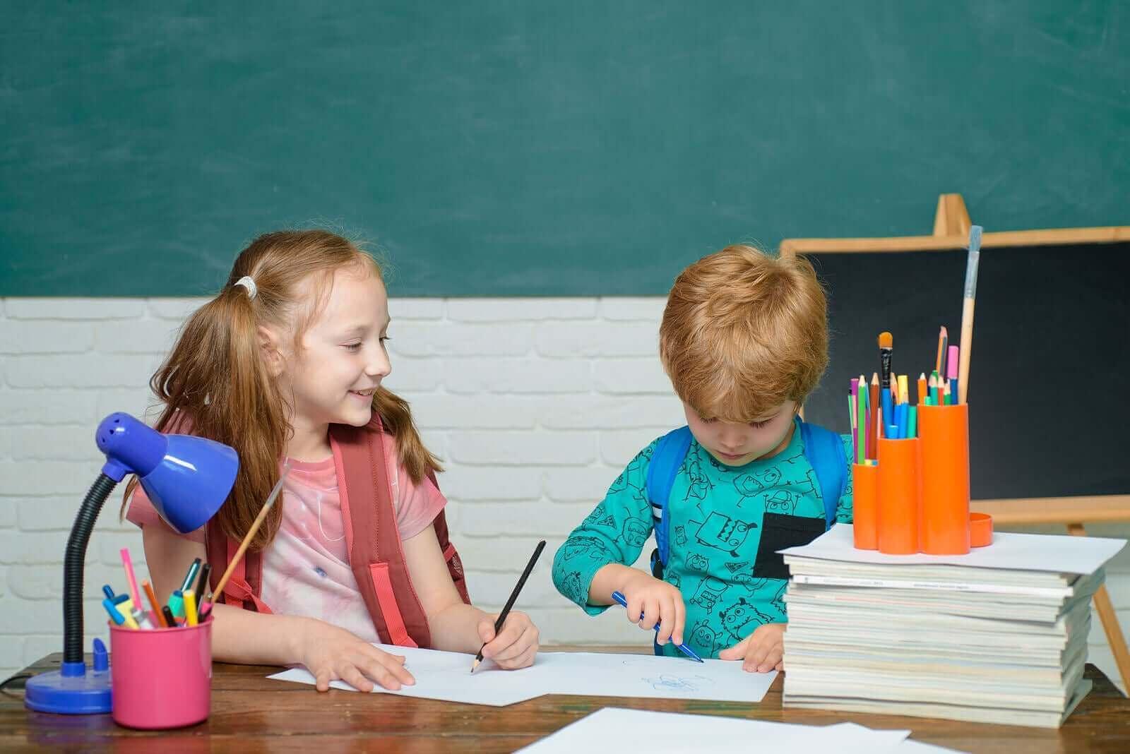 Dine barns karakterer vil ikke avgjøre suksessen deres