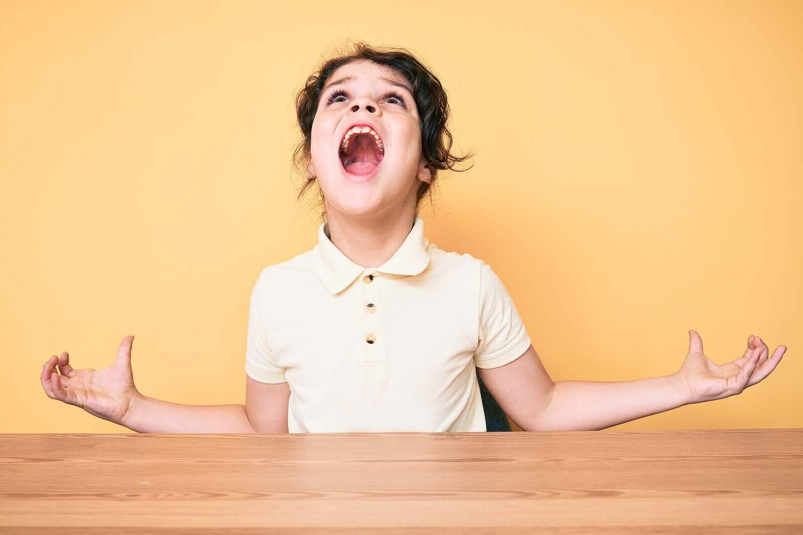 Hvorfor blir barn aggresive?