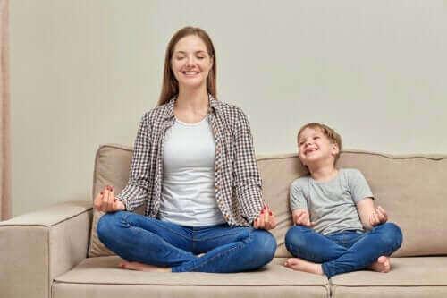De beste avslapningsteknikkene for barn, i henhold til alder