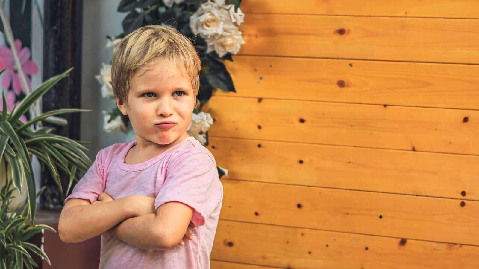 Barn som eksploderer når de kommer ut av barnehagen