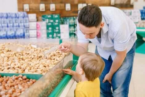 Helsefordelene med nøtter for barn