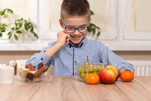 Kunstige søtningsmidler og barn