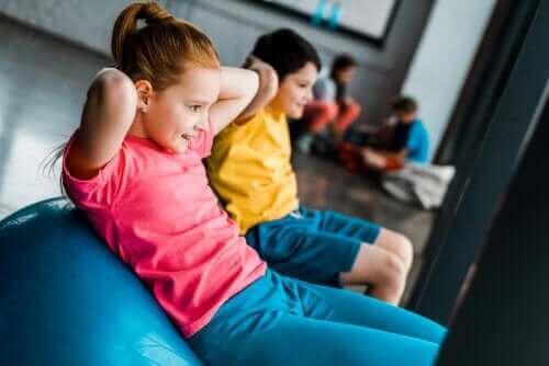 Fordeler med styrketrening for barn