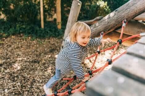grovmotorisk utvikling hos barn
