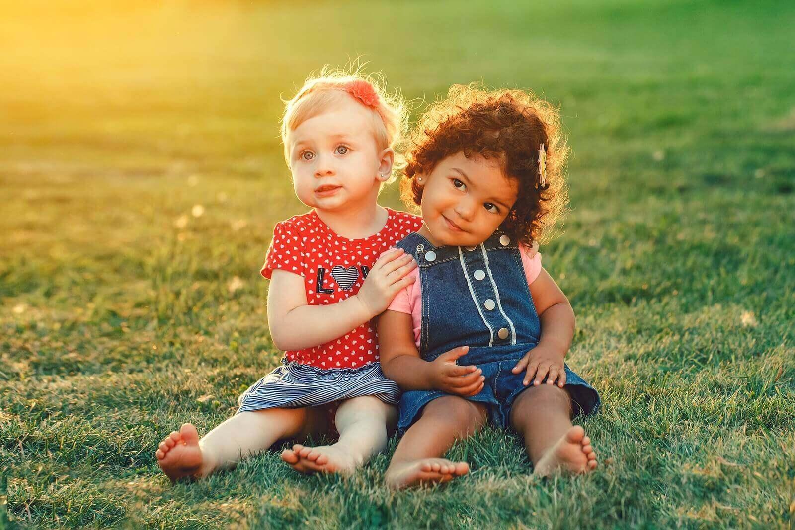 Utviklingen av personlighet i barndommen