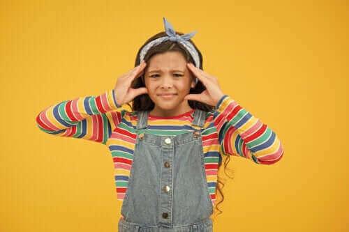 Hvordan mental utmattelse påvirker barn