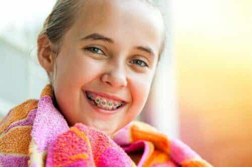Anbefalinger for barn med tannregulering