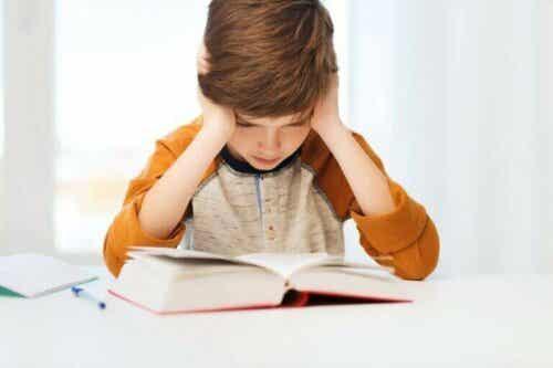De fem vanligste leseproblemene hos barn