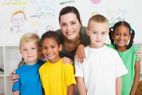 Hva verdsetter barn fra gode lærere?