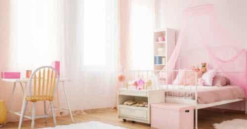 Seks forskjellige typer senger for barn