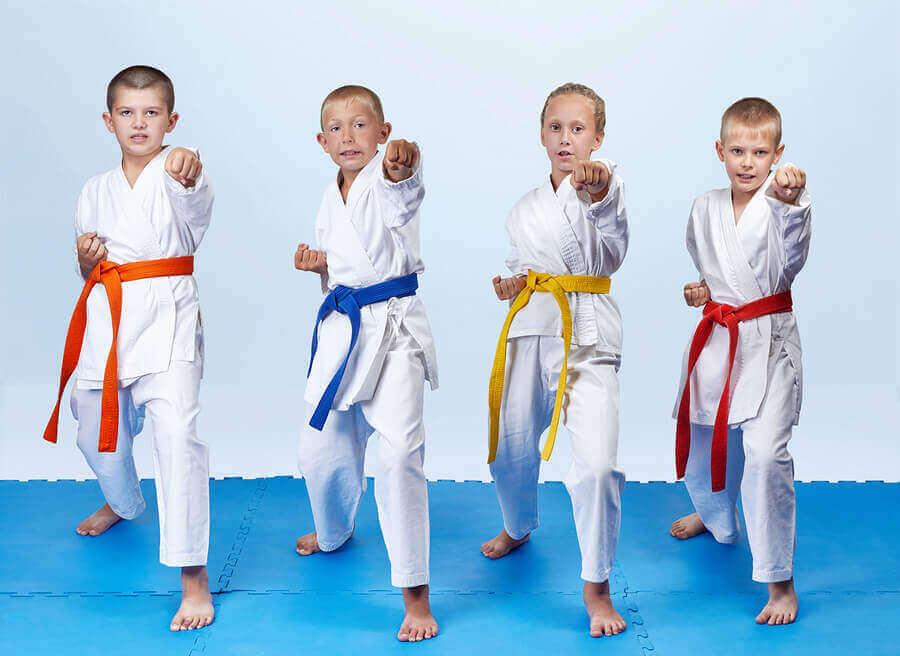 Fordeler med kung-fu for barn