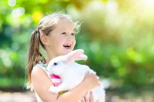 Vennskapet mellom kjæledyr og barn