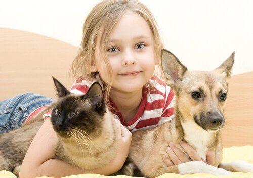 Fordelene ved at barn har kjæledyr