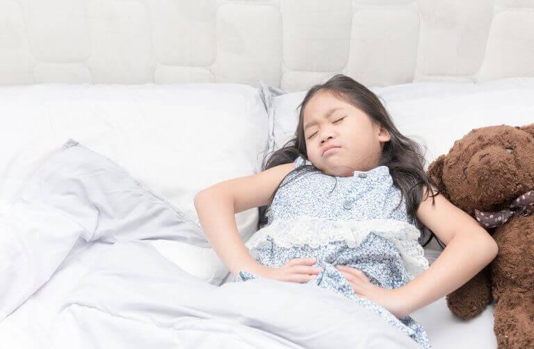 Irritabel tarmsyndrom hos barn