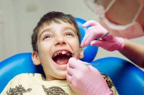 De vanligste tannproblemene hos barn