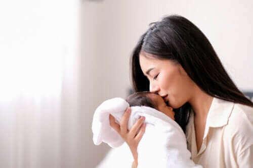En nybakt mors redsler for å oppdra sitt første barn