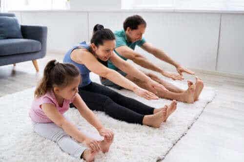 Viktigheten av å oppmuntre barn til å være aktive