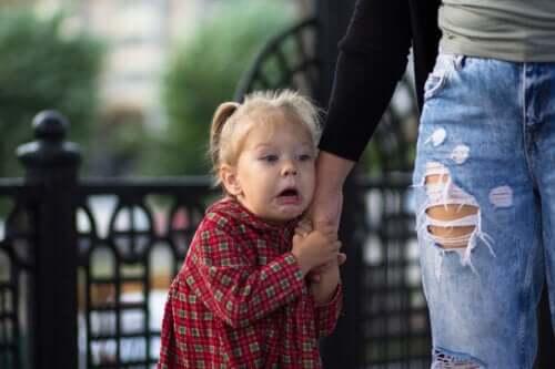 Frykten for dukker hos barn