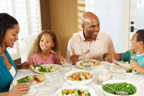 Oppmuntre til sunne spisevaner hos barn