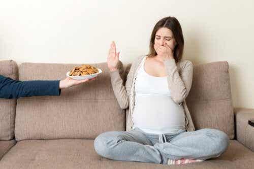 Hvordan graviditet påvirker sansene