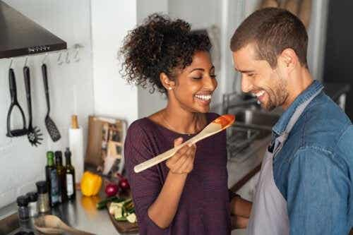 En ukentlig meny for å forbedre fruktbarheten hos par